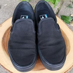 Vans Ultra Crush Lite Slip On Sz 9.5 Black